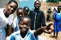 Kinderen in Uganda
